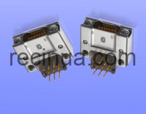 MIL-DTL-32139 90 градусов PCB Разъемы