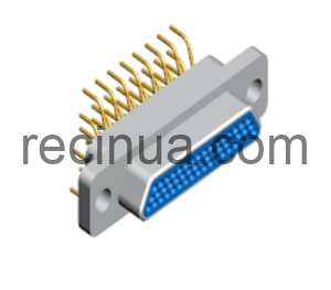 Micro-D MIL-DTL-83513 - R04J - вертикальная PCB