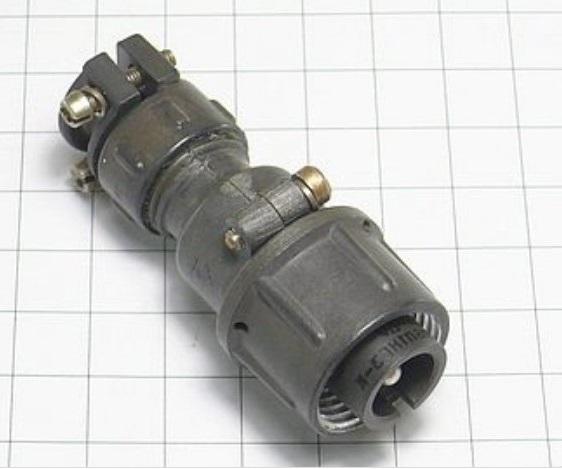 ШР16П1НГ3 вилка кабельная
