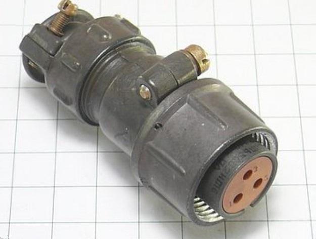 ШР20П3НШ6 розетка кабельная