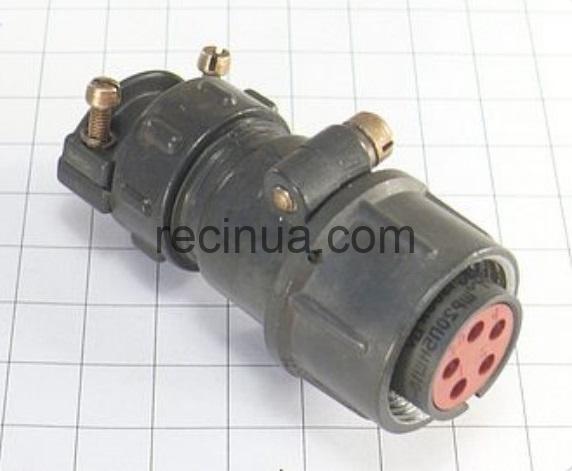 ШР20П5НШ10 розетка кабельная
