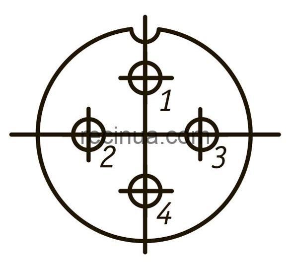 SHR20PK4ESH4 CABLE PLUG