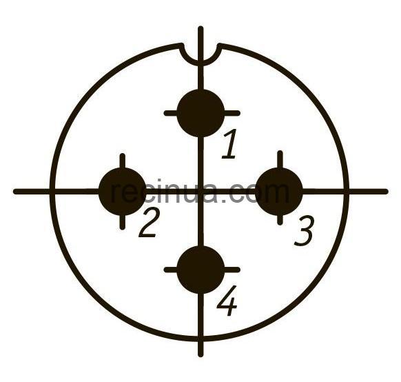 SHR20SK4NSH8 CABLE PLUG