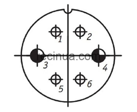 SHR28P6EG4 CABLE OUTLET