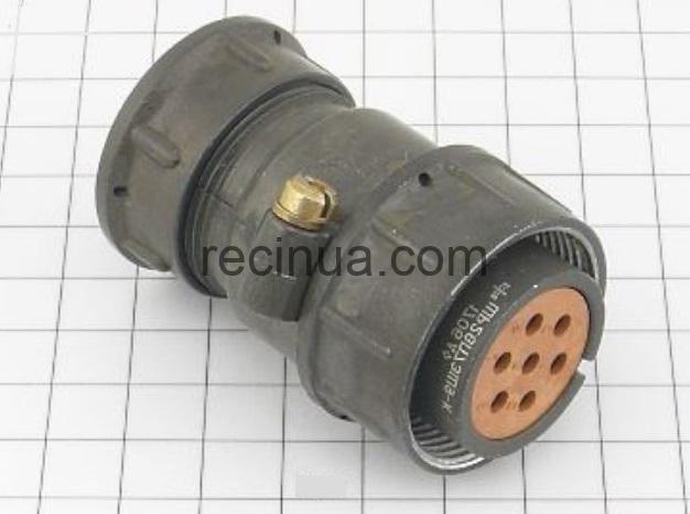 ШР28П7ЭШ9 розетка кабельная