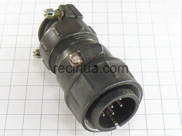 ШР28П7НГ7 вилка кабельная