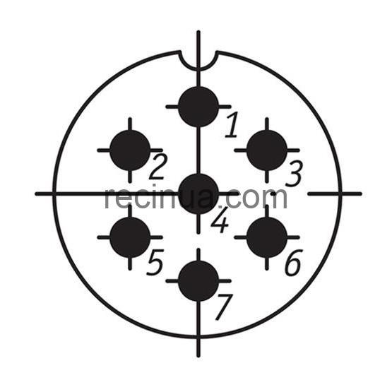 SHR28SK7NSH9 CABLE PLUG