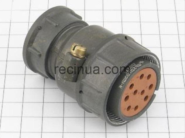 ШР32П10ЭШ1 розетка кабельная