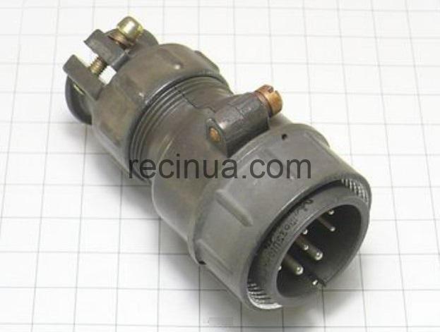 ШР32П10НГ1 вилка кабельная