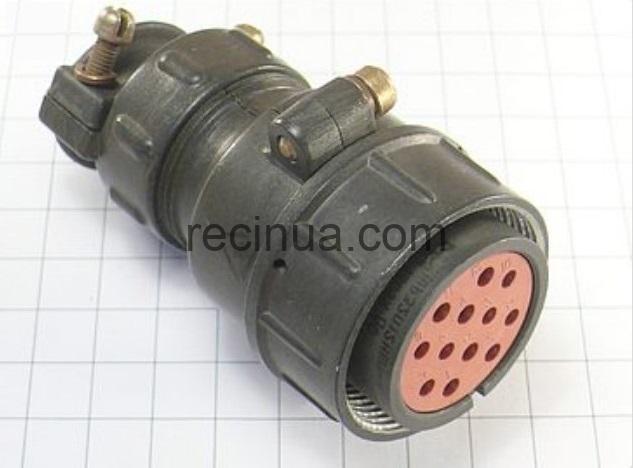 ШР32П12НШ1 розетка кабельная