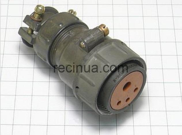 ШР32П4НШ14 розетка кабельная