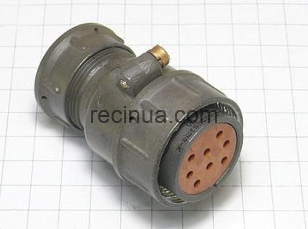 ШР32П8ЭШ2 розетка кабельная