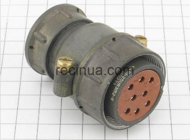 ШР32П8ЭШ3 розетка кабельная