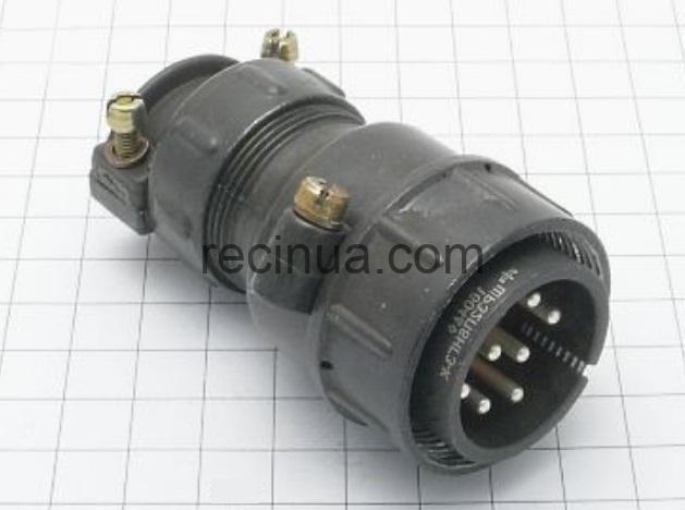 ШР32П8НГ3 вилка кабельная