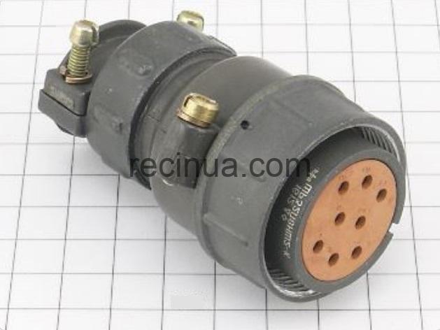 ШР32П8НШ2 розетка кабельная