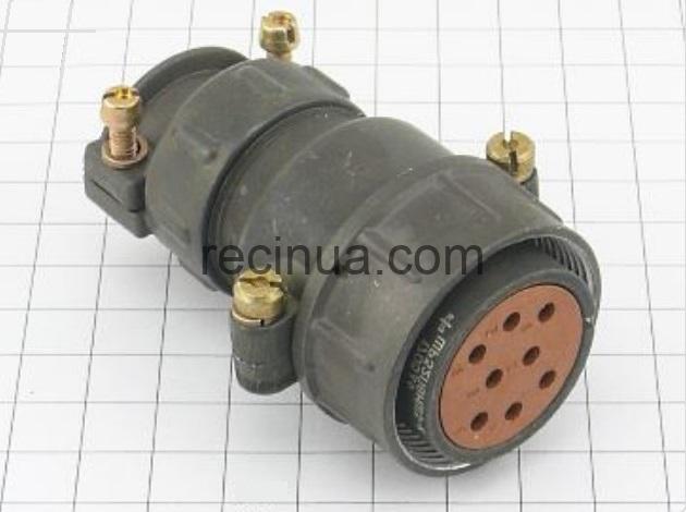 ШР32П8НШ3 розетка кабельная