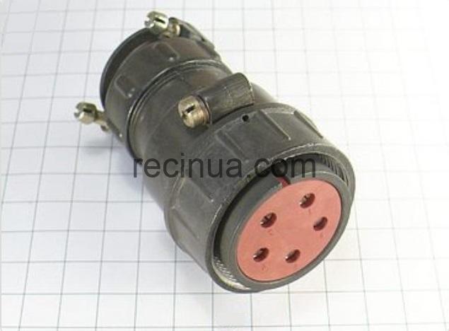ШР36П5НШ11 розетка кабельная