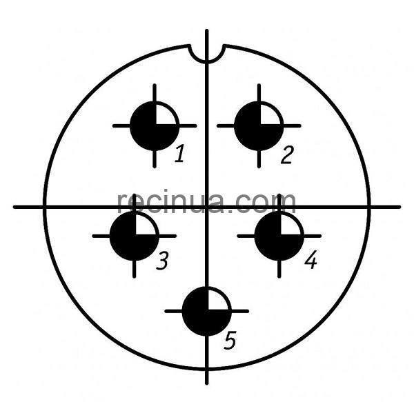SHR36SK5ESH11 CABLE PLUG