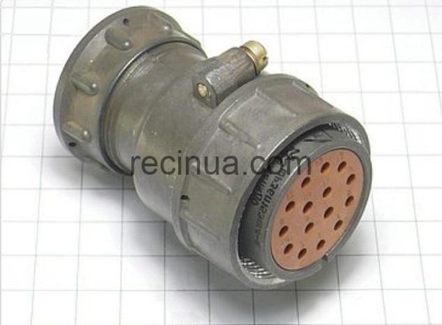 ШР36П15ЭШ4 розетка кабельная