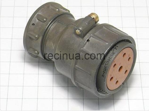 ШР36П7ЭШ1 розетка кабельная
