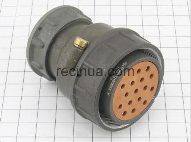 ШР40П16ЭШ2 розетка кабельная