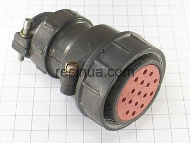 ШР40П16НШ2 розетка кабельная
