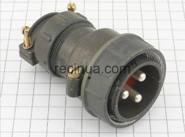 ШР40П3НГ9 вилка кабельная