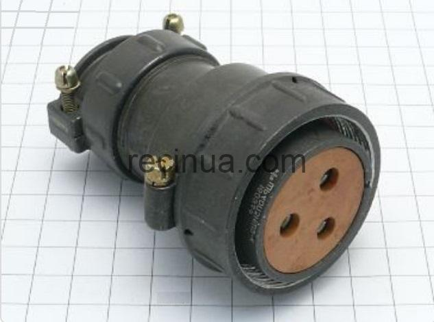 ШР40П3НШ9 розетка кабельная