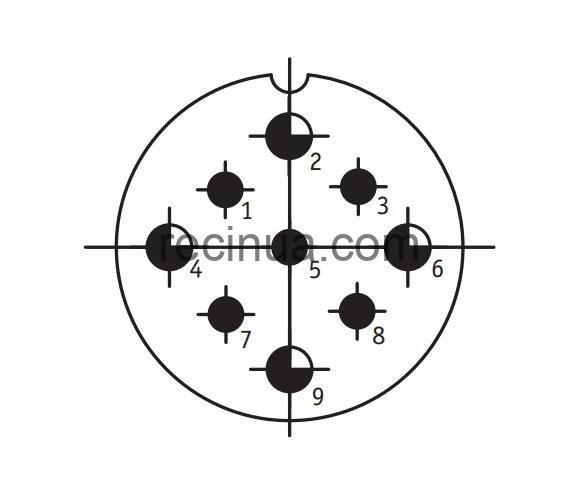 SHR40P9ESH9 CABLE PLUG