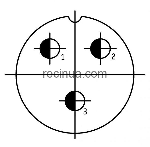 SHR40U3NG9 CABLE PLUG