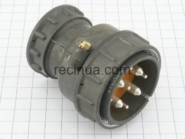 ШР48П9ЭГ7 вилка кабельная
