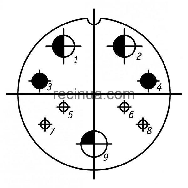 SHR48P9ESH1 CABLE PLUG