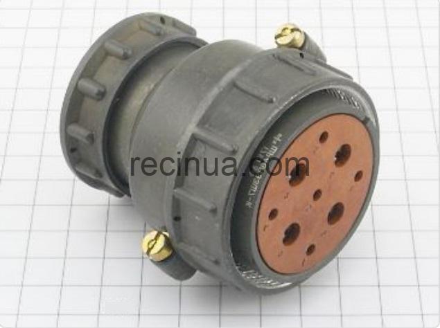ШР48П9ЭШ7 розетка кабельная