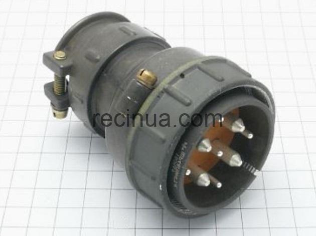 ШР48П9НГ7 вилка кабельная