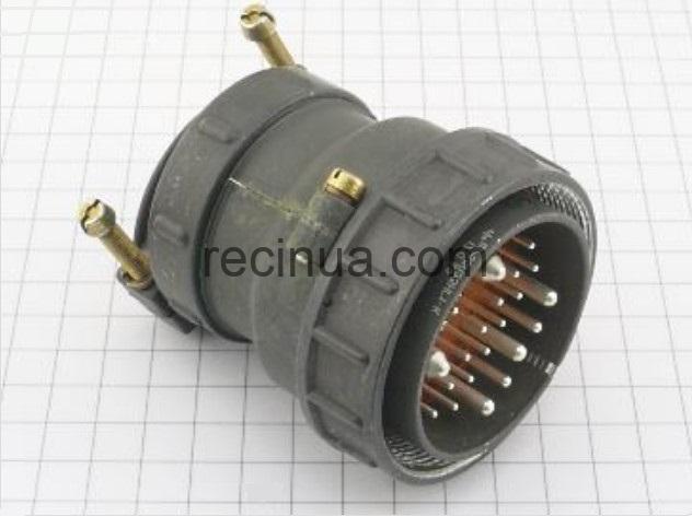 ШР55П23НГ1 вилка кабельная