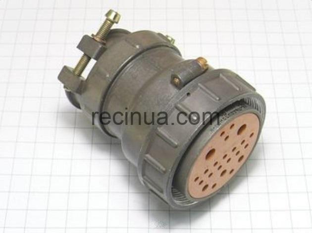 ШР55П23НШ1 розетка кабельная