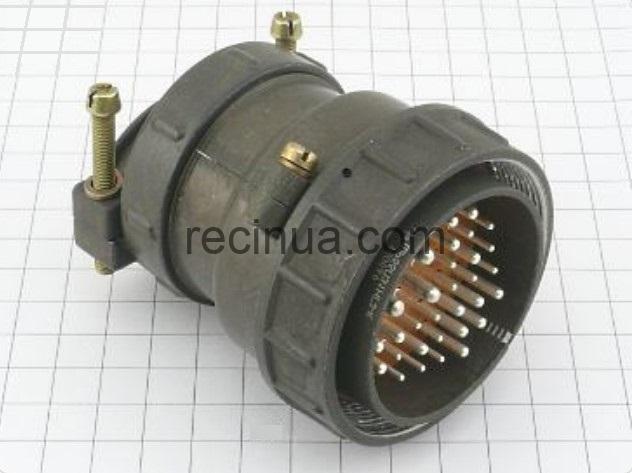 ШР55П31НГ3 вилка кабельная