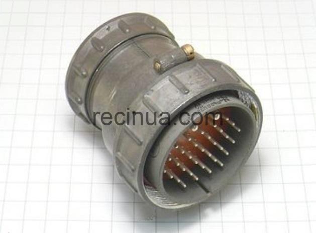 ШР55П35ЭГ3 вилка кабельная