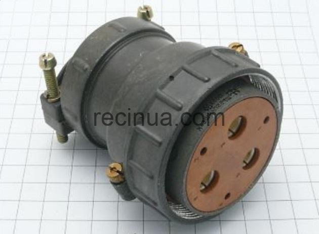 ШР55П6НШ6 розетка кабельная