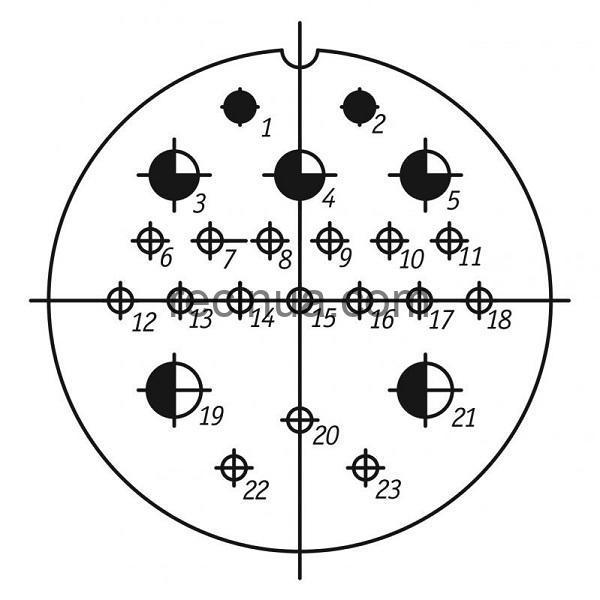 SHR55U23ESH1 CABLE OUTLET