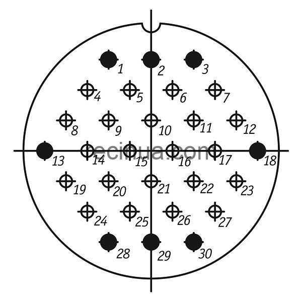 SHR55U30ESH1 CABLE OUTLET