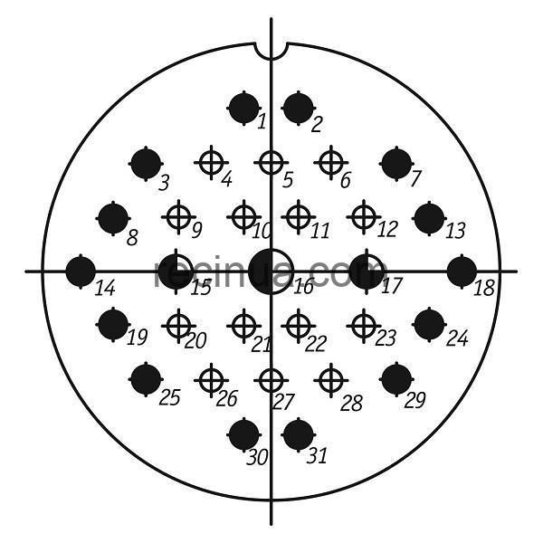 SHR60PK31ESH1 CABLE PLUG