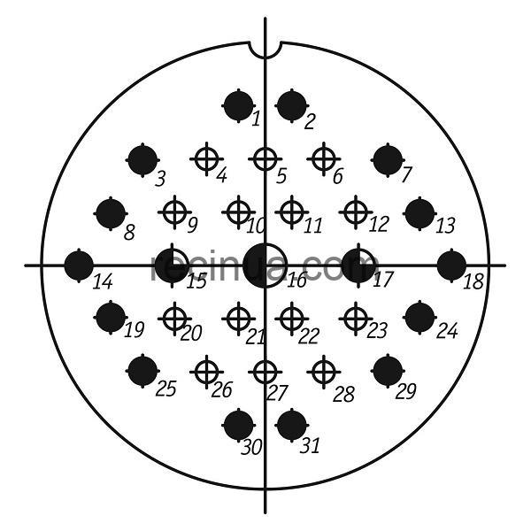 ШР60СК31НГ1 розетка приборная