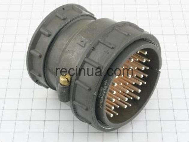 ШР60П45ЭГ2 вилка кабельная
