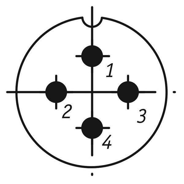 SSHR28P4NG8 CABLE PLUG