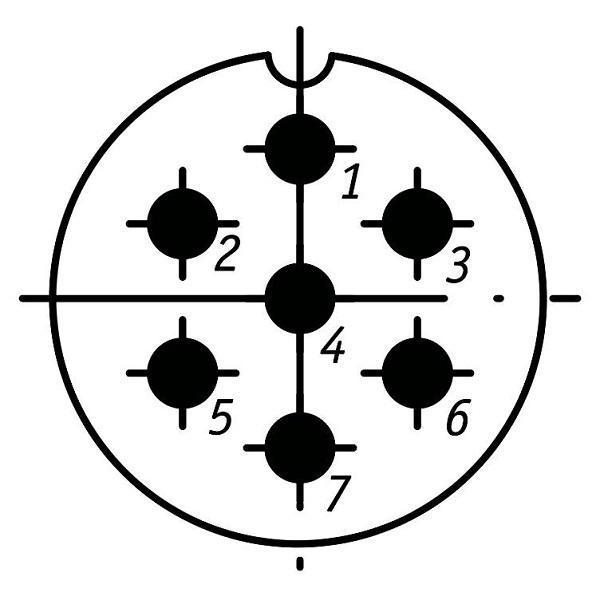 SSHR28P7ESH9 CABLE PLUG