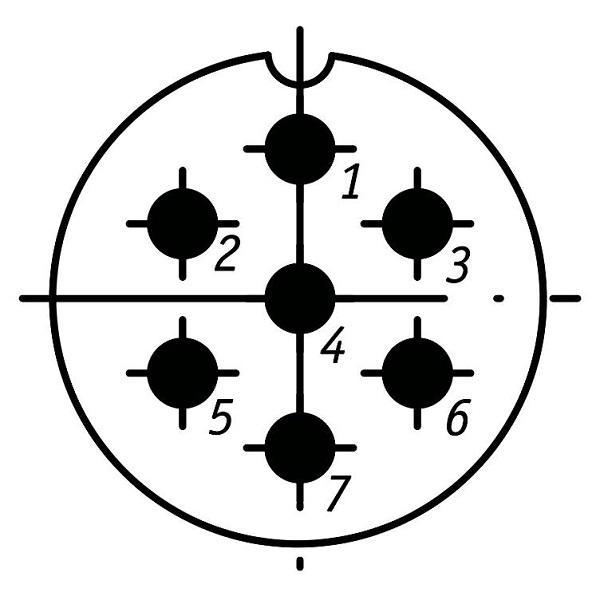 SSHR28P7NG9 CABLE PLUG