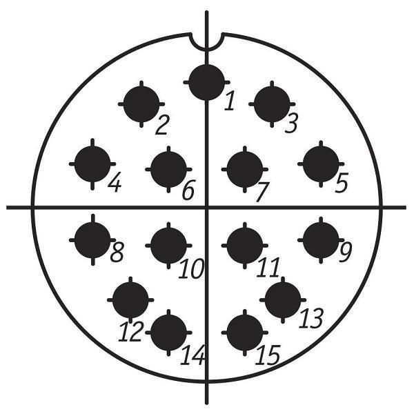 SSHR36P15EG5 CABLE PLUG