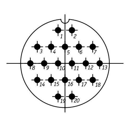SSHR48P20NG2 CABLE PLUG