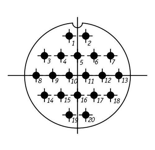 SSHR48PK20NSH2 CABLE PLUG